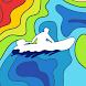 Схемы глубин водоёмов для рыбалки - Dap Drift PRO.
