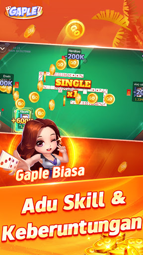 POP Gaple - Domino gaple Ceme BandarQQ Solt oline 1.14.0 screenshots 5