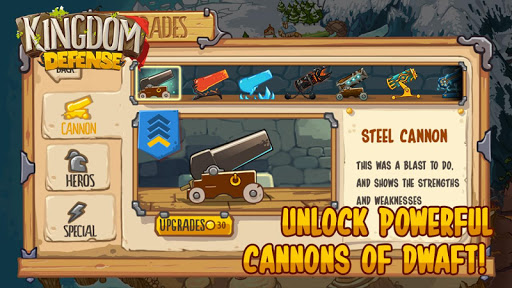 Télécharger Kingdom Defense: Epic Hero War  APK MOD (Astuce) screenshots 1