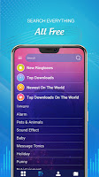 screenshot of Best Ringtones For Android Phone