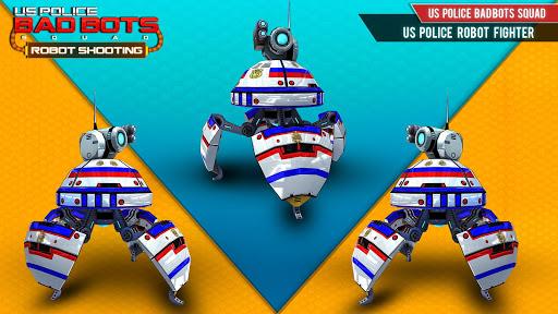 US Police Robot Shooting Crime City Game 2.9 screenshots 13