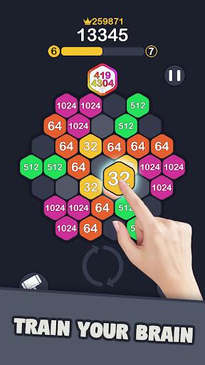 2048 Hexagon Puzzle 1.0.4 screenshots 3