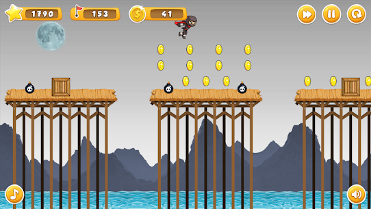Ninja Run Hack for iOS and Android 2