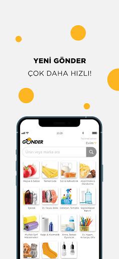 Gu00f6nder: Yeni Nesil Market apktram screenshots 3