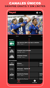 PrendeTV: TV and Movies FREE in Spanish APK Download For Android 4
