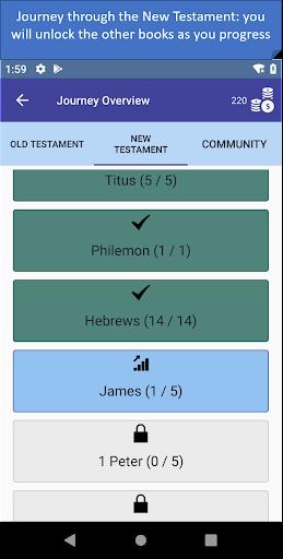 Bible Journey Trivia Game 1.27 screenshots 4