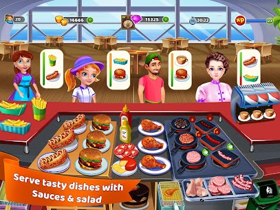 Cooking Warrior: Cooking Food Chef Fever 3