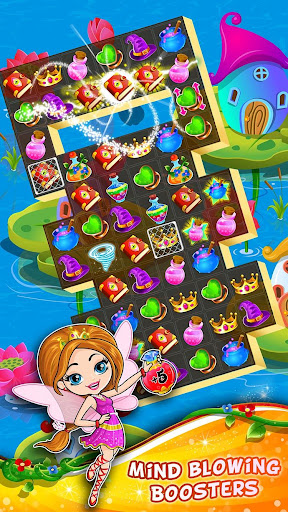 Fairy Tale ud83cudf1f Match 3 Games apkpoly screenshots 3
