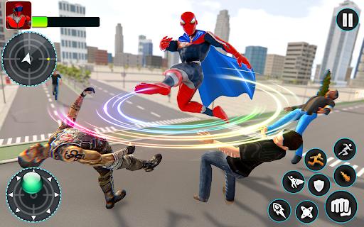 Flying Robot Hero - Crime City Rescue Robot Games 1.7.7 screenshots 4
