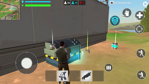 Free Battle Royale Fire Force: Shooting games android2mod screenshots 2