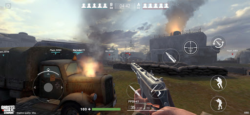 Ghosts of War: Jeux de guerre WW2  APK MOD (Astuce) screenshots 3