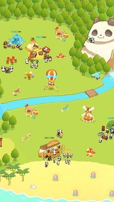 パンダと作ろう!キャンプ島 - Panda Camp -かわいい動物育成ゲームのおすすめ画像1