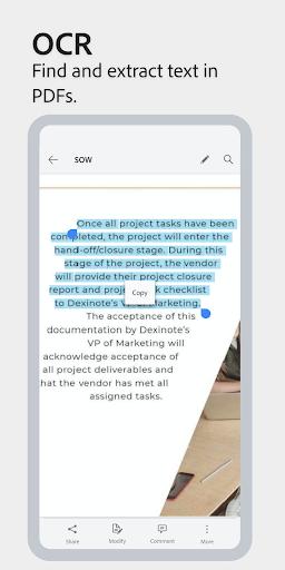 Adobe Scan: PDF Scanner with OCR, PDF Creator 20.09.22-regular Screenshots 5