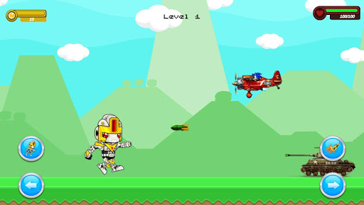 Shooter Robot : Plane , Tank Shooting  screenshots 4
