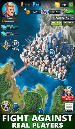 Puzzle Combat: Match-3 RPG Apkfinish screenshots 20
