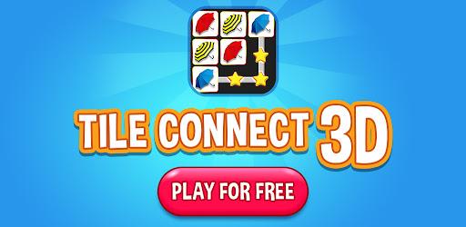 Tile Connect 3D - Triple Match Puzzle Game