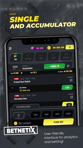 BetNetix - Sports Betting Game, Betsim with Odds  screenshots 5