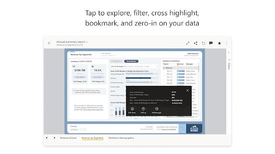 Microsoft Power BIu2013Business data analytics 2.2.210811.2141709 Screenshots 8