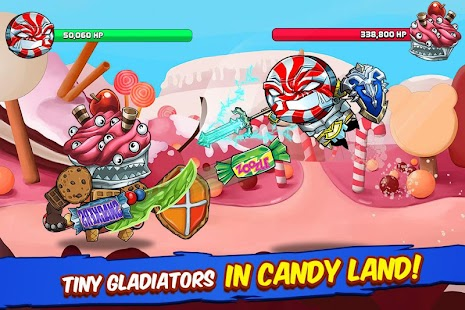 Tiny Gladiators - Fighting Tournament Screenshot