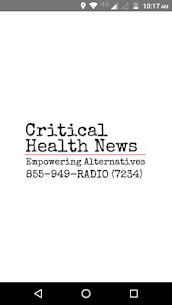 Critical Health News 1