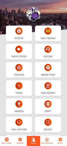 Astonishing Basketball 21- General Manager Game  screenshots 5