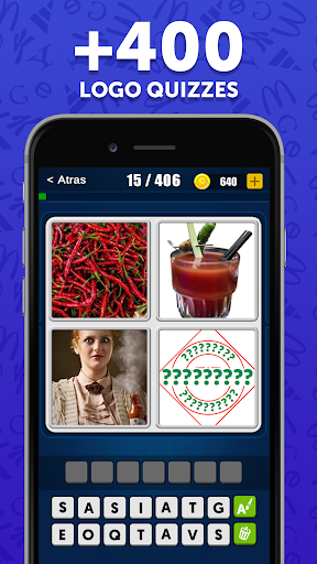 4 Pics 1 Logo Game - Free Guess The Word Games  screenshots 4