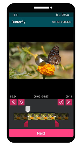 VEdit Video Cutter and Merger android2mod screenshots 3