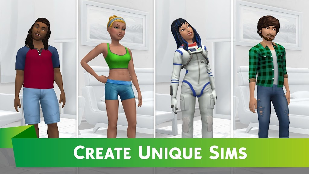The Sims™ Mobile MOD poster 1