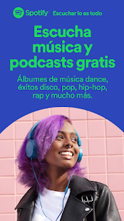 Spotify: reproducir música y podcasts favoritos Screenshot