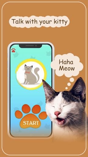 Cat translator. Cat sounds. Meow joke 3.6 screenshots 1