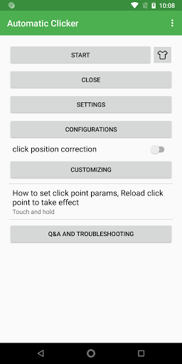 Simple Auto Clicker apktram screenshots 1