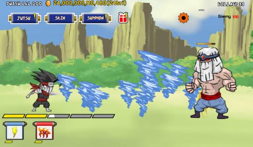 tap tap ninja jutsu screenshot 3