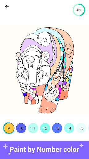 Paint Color - Paint color by number, coloring book 3.2 screenshots 5