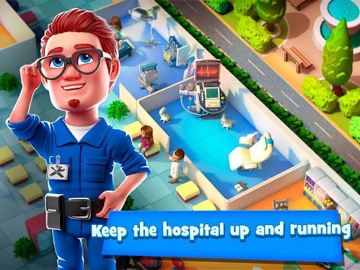 Dream Hospital - Health Care Manager Simulator apkpoly screenshots 11