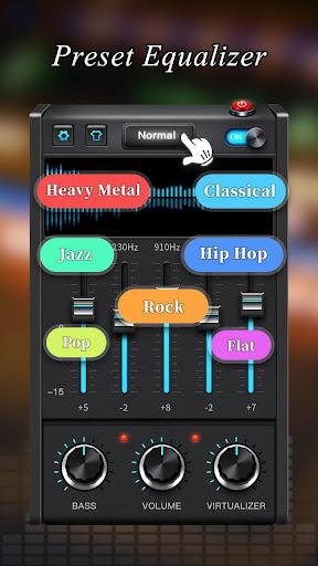 Equalizer - Bass Booster & Volume Booster 1.2.7 Screenshots 2