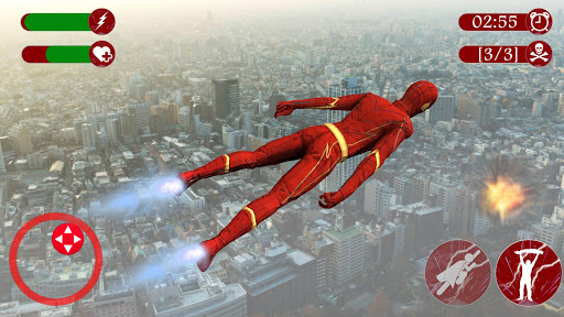 Super Speed Rescue Survival: Flying Hero Games  screenshots 1