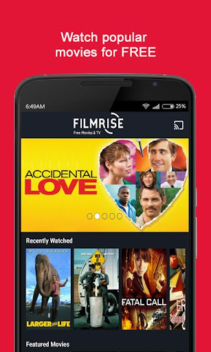 FilmRise - Watch Free Movies and classic TV Shows Latest screenshots 1