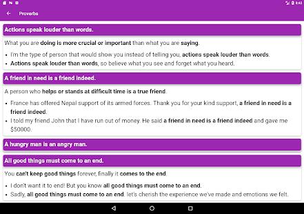 English Grammar App