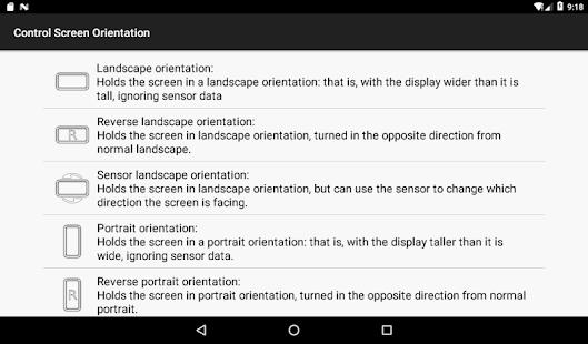 control screen rotation 3.0.2 Screenshots 9