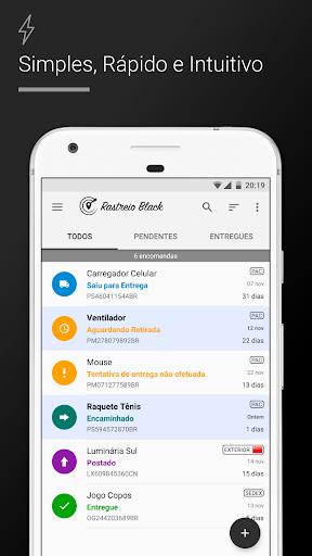 Rastreio Correios (rastreamento correios) modavailable screenshots 1