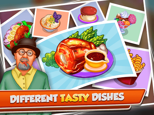cooking crush - madness crazy chef cooking games screenshot 2