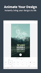 Adobe Spark Post: Graphic Design & Story Templates Screenshot