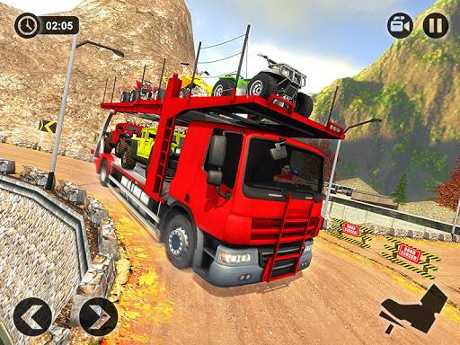 Vehicle Transporter Trailer Truck Game  screenshots 9
