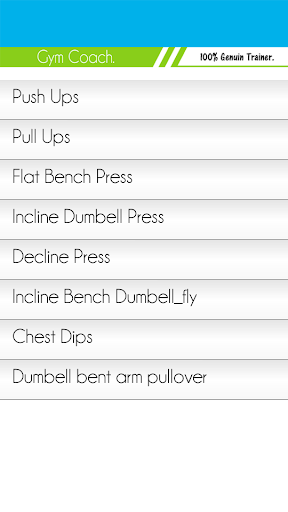 Gym Coach - Gym Workouts 47.6.8 Screenshots 5
