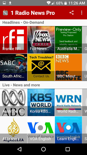 1 Radio News Pro For PC Windows (7, 8, 10, 10X) & Mac Computer Image Number- 8