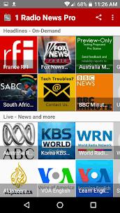 1 Radio News Pro APK 4