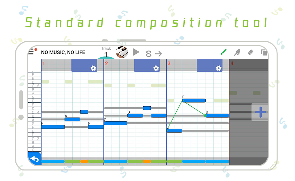 3 minutes Music Composition - musicLine  poster 0