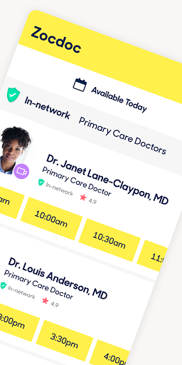 Zocdoc Find A Doctor & Book On Demand Appointments 3.51.0 Screenshots 2