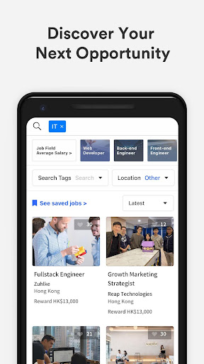 Wanted: Jobs & Career apktram screenshots 3
