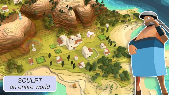 Godus Screenshot